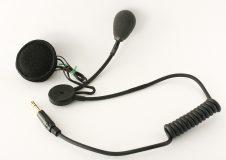 Słuchawki do kasku otwartego z mikrofonem różnicowym